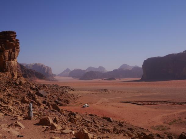 wadi rum desert graveyard