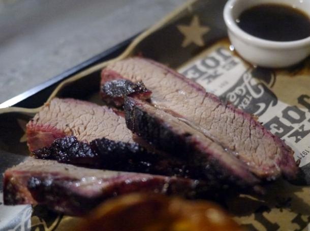 beef brisket sunday roast at texas joe's