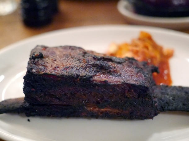 beef short rib with kimchi at foxlow