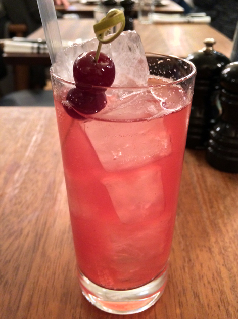 cherry soda at foxlow