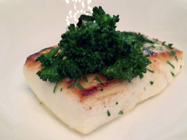 halibut at berners tavern