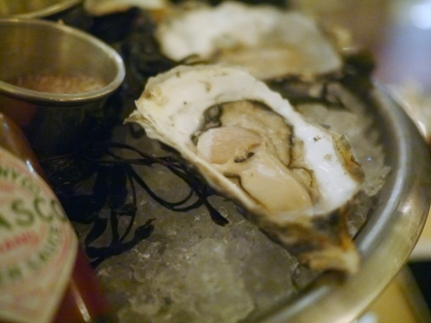 oysters at berners tavern