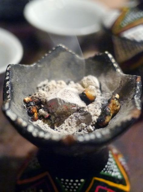 frankincense at lalibela