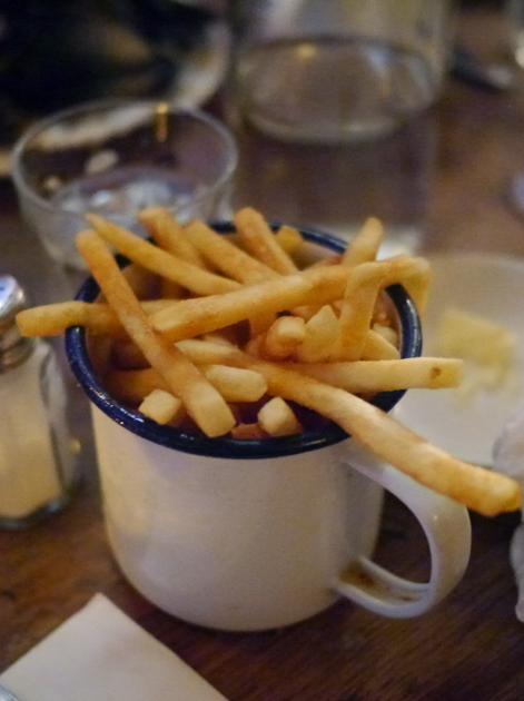 fries at the ape and bird