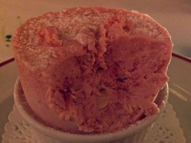 frozen soufflé at jackson and rye