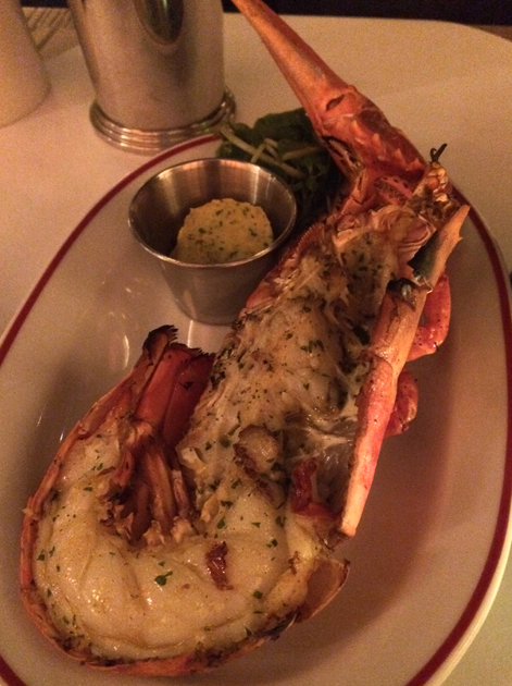 half lobster at jackson and rye