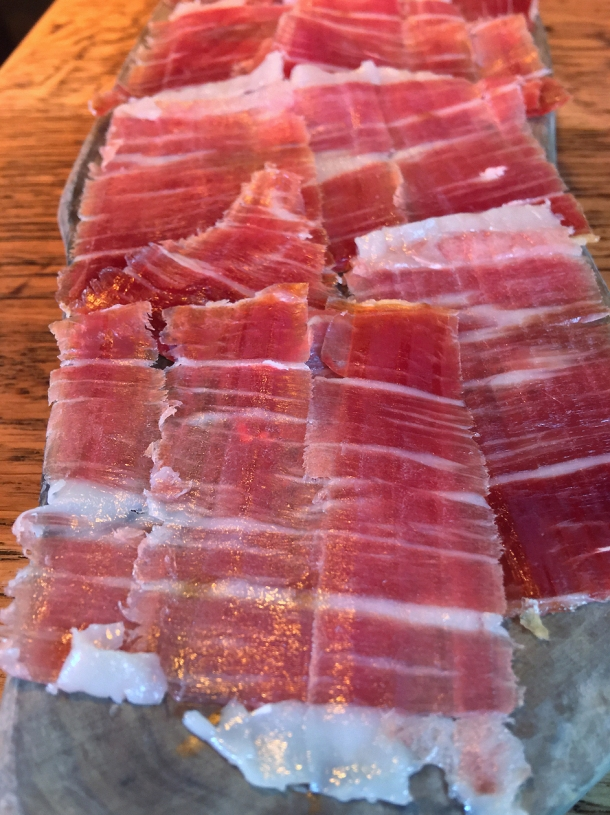 illustrative photo of the jamon iberico bellota at Ember Yard