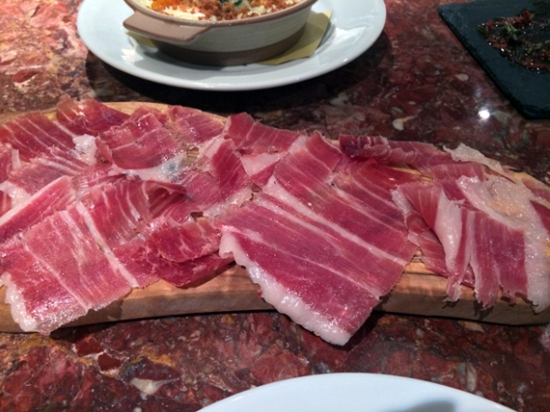 jamon iberico de bellota at ember yard