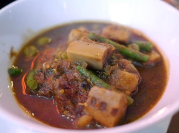 mackerel curry at janetira