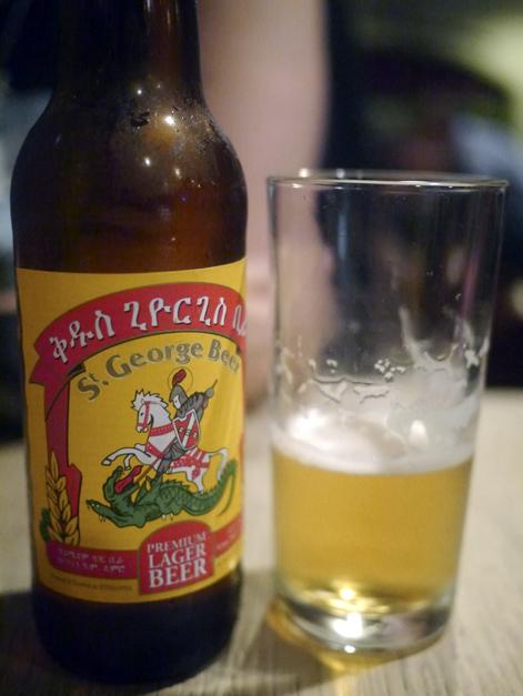 st george ethiopian beer at lalibela