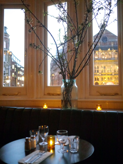 upstairs table at the ape and bird