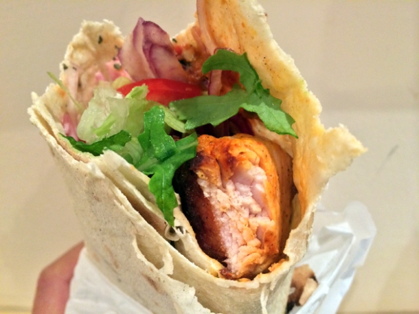 chicken shish at e mono finsbury park