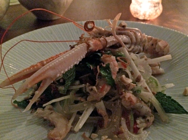 langoustine at house of ho