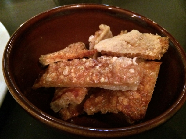 pork crackling at blackfoot