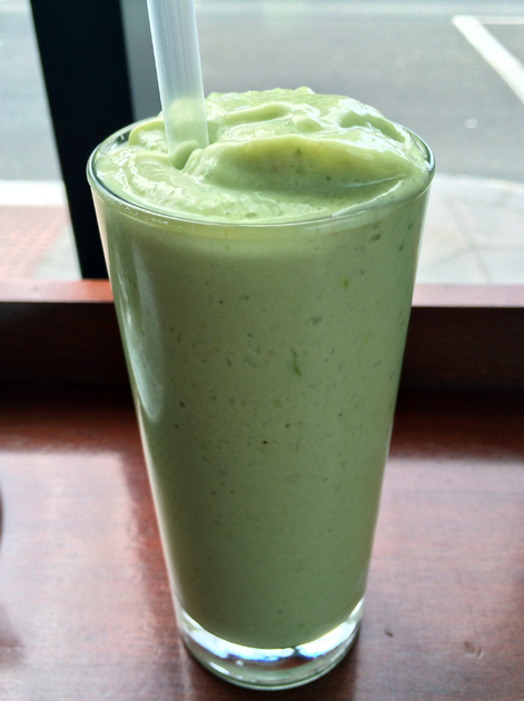 avocado milkshake from la du du
