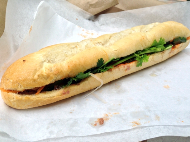 bay special baguette at banh mi bay