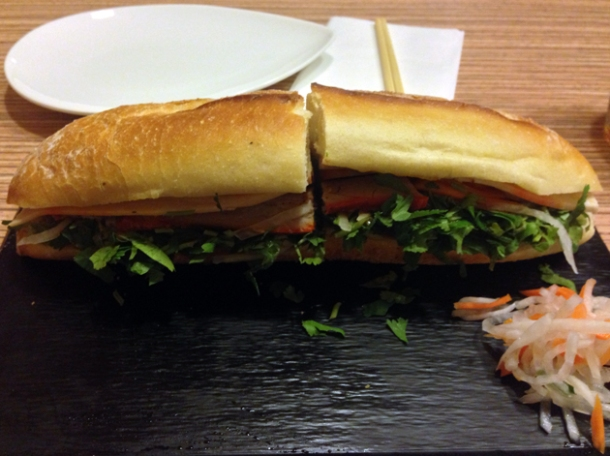 classic banh mi at viet eat