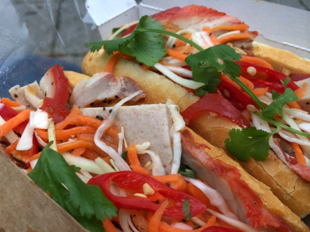 classic banh mi from sen viet