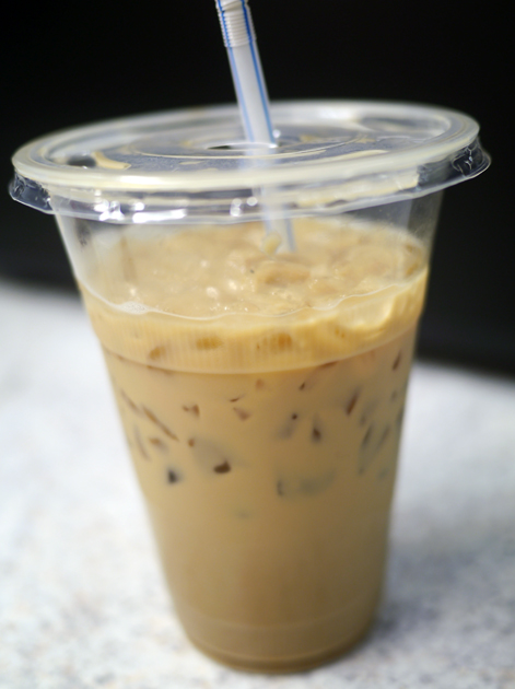 iced vietnamese coffee from banh mi bay