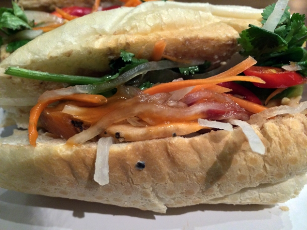 pork baguette at oa com tam