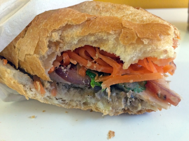 special banh mi at pho express