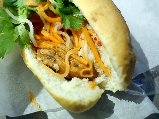 spiced chicken vietnamese sandwich from an woolwich