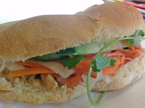 tofu sandwich from banh mi bay