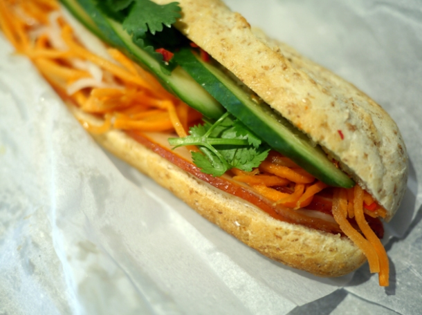 Viet special banh mi from an woolwich