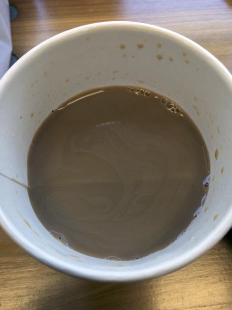 vietnamese coffee at banh mi hoi an
