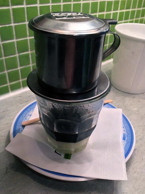vietnamese coffee at miss chu