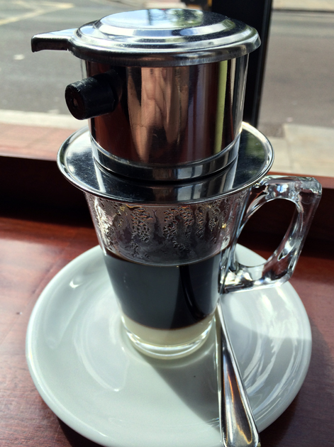 vietnamese coffee from la du du