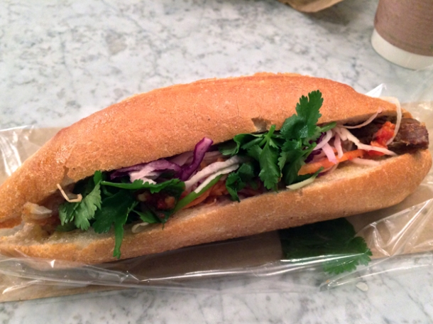 vietnamese sandwich at bep haus