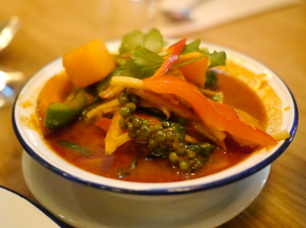 jungle curry at rosa's cafe carnaby street
