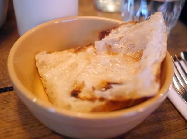 lard on toast at barnyard