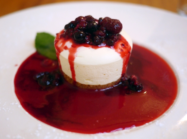 mascarpone cheesecake at sardo