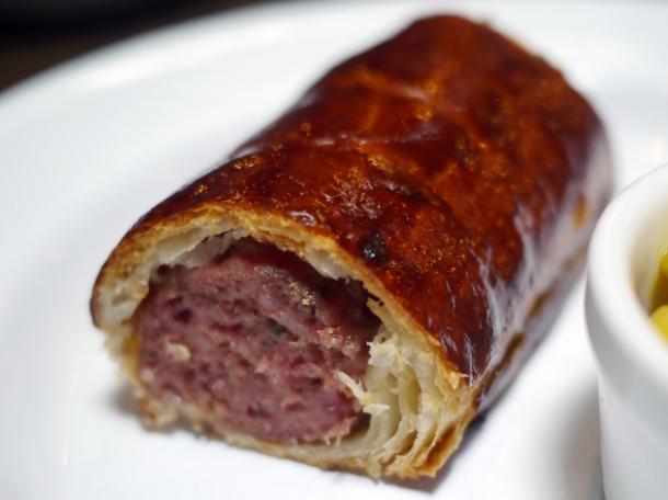 sausage roll at barnyard