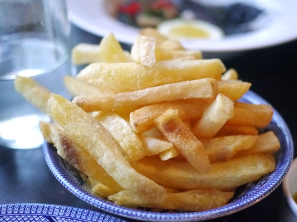 fries at 8 hoxton square