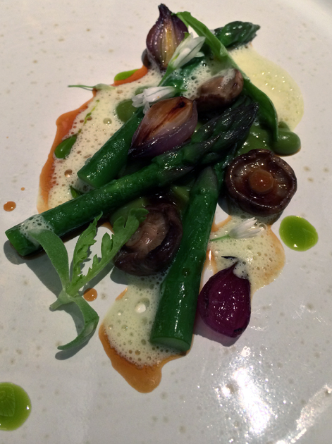asparagus at fera at claridge's