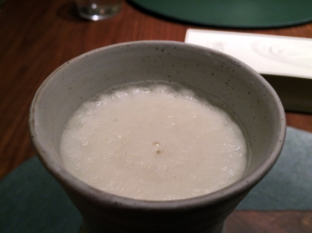 camomile milkshake at fera at claridge's