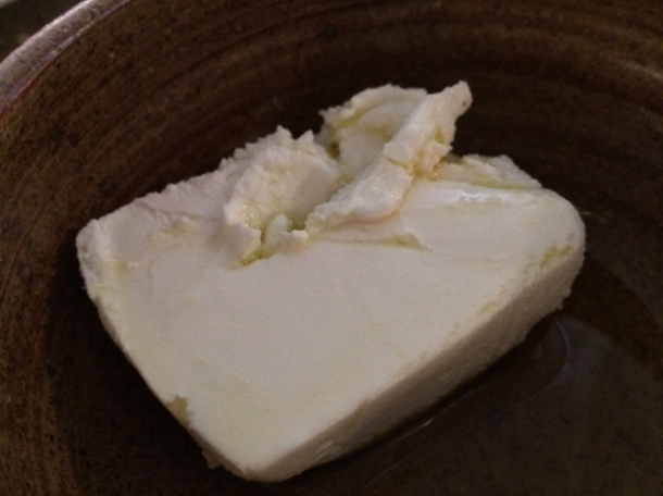 rove des garrigues goat's cheese at rawduck
