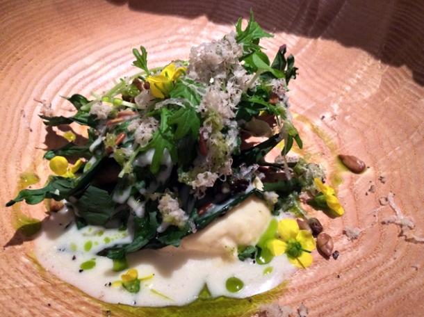 salad at fera at claridge's