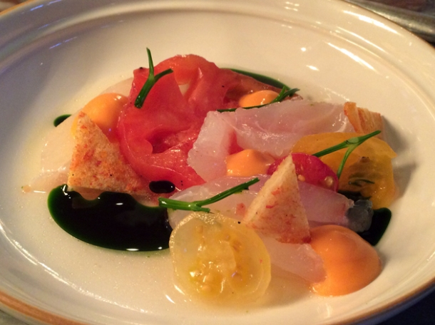 cured cod at chiltern firehouse