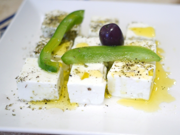 feta cheese at 21 bateman street