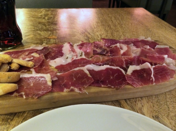 jamon iberico de bellota at bilbao berria london