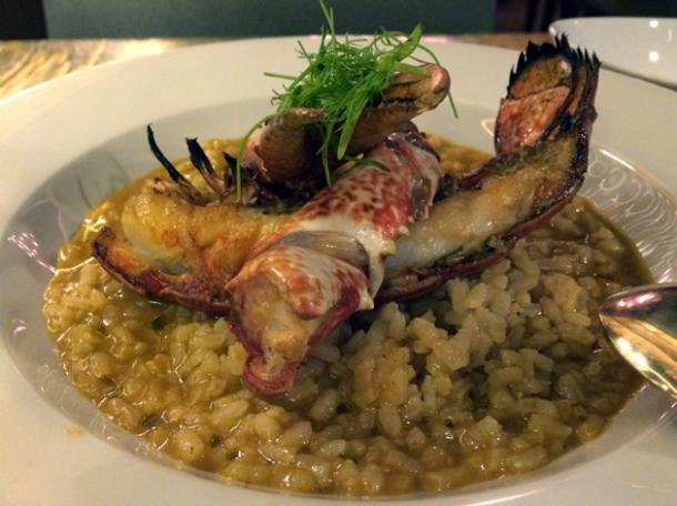 lobster rice at bilbao berria london