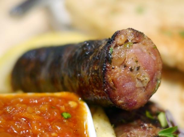 wild boar sausage at 21 bateman street