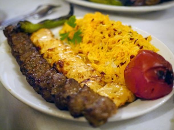 mix grill platter at azerbaijan finchley