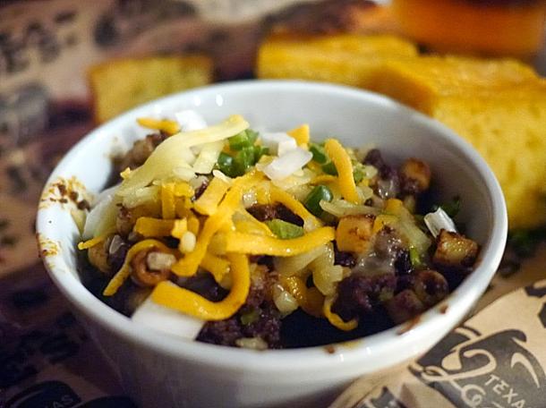 chilli mac and cheese at texas joe's shoreditch