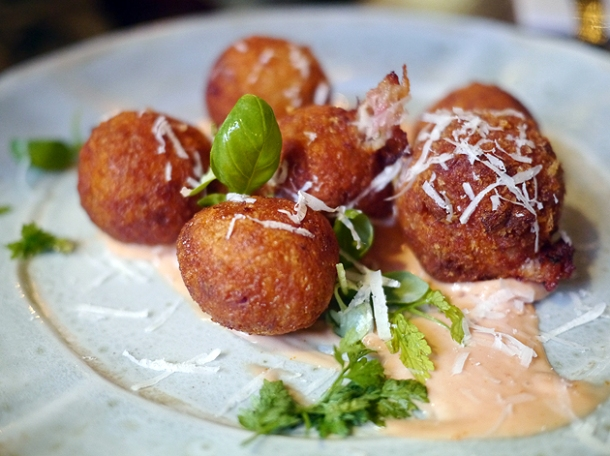 croquette balls at whyte and brown