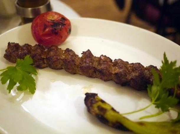 extra kebab at azerbaijan finchley